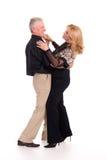 Het oude paar dansen Royalty-vrije Stock Fotografie