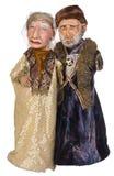 Het oude Paar van Oost-Europa van de Aristocraat Royalty-vrije Stock Afbeelding