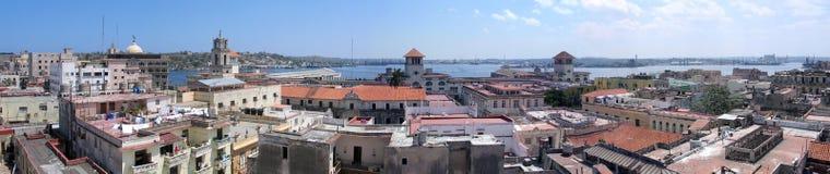 Het oude panorama van Havana Royalty-vrije Stock Foto