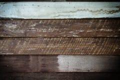 Het oude patroon en de achtergrond van de paneel houten muur Royalty-vrije Stock Foto