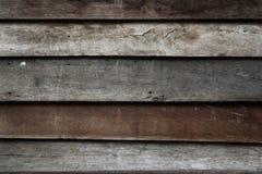 Het oude patroon en de achtergrond van de paneel houten muur Stock Fotografie