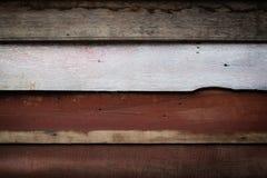 Het oude patroon en de achtergrond van de paneel houten muur Royalty-vrije Stock Fotografie