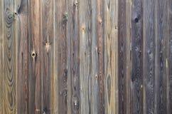 Het oude patroon van het grunge donkere bruine houten paneel met mooie abstracte textuur van de korreloppervlakte, verticale gest Royalty-vrije Stock Afbeelding