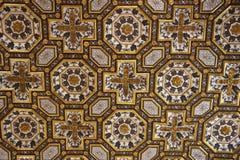 Het oude plafond van de Kerk Stock Fotografie