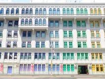 Het oude Politiebureau van de Heuvelstraat Stock Afbeelding