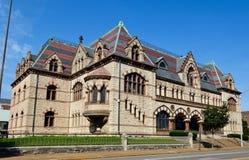 Het oude Postkantoor van Evansville Royalty-vrije Stock Foto