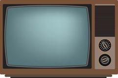 Het oude scherm van TV Royalty-vrije Stock Afbeeldingen