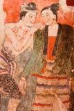 Het oude schilderen van Nan Stock Foto's
