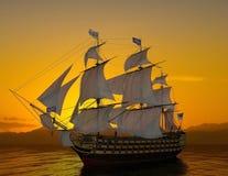 Het oude schip Royalty-vrije Stock Afbeeldingen