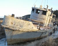 Het oude schip Royalty-vrije Stock Fotografie