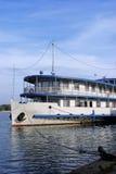 Het oude schip van het de stoomwiel van de stijlcruise Stock Foto's