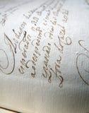 Het oude Schrijven Stock Afbeelding