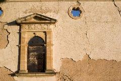 Het oude Sissia Klooster, Kefalonia, September 2006 royalty-vrije stock afbeelding