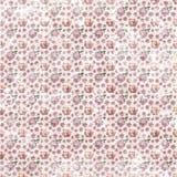 Het oude sjofele naadloze behang van het bloempatroon vector illustratie