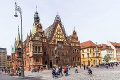Het oude stadhuis Stock Fotografie