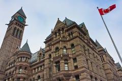 Het Oude Stadhuis van Toronto Stock Foto