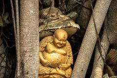 Het oude Standbeeld van Boedha Royalty-vrije Stock Fotografie