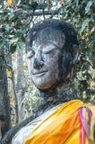 Het oude standbeeld van Boedha Het historische park van Sukhothai, Thailand Royalty-vrije Stock Fotografie