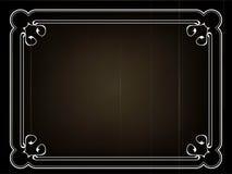 Het oude stille kader van de filmtitel Royalty-vrije Stock Foto