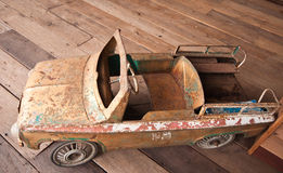 Het oude Stuk speelgoed van de Auto royalty-vrije stock foto's