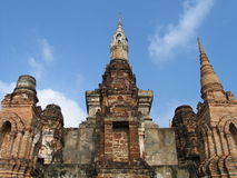 Het Oude Thaise Paleis, Sukhothai, Thailand Royalty-vrije Stock Afbeelding