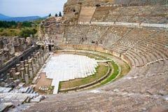 Het oude theater van Ephesus Stock Afbeelding