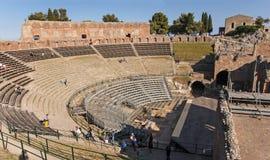 Het oude theater van Taormina Royalty-vrije Stock Fotografie