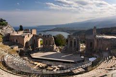 Het oude theater van Taormina Royalty-vrije Stock Afbeelding
