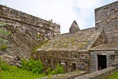 Het oude tropische fort van de Bermudas. Royalty-vrije Stock Afbeeldingen