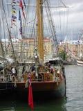 Het oude varen, achtersteven Royalty-vrije Stock Foto