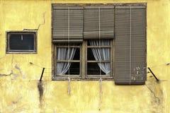 Het oude venster Royalty-vrije Stock Afbeeldingen