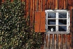 Het oude venster Stock Foto