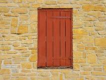 Het oude venster van Shuttered Stock Afbeelding