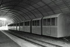 Het oude vervoer van de treinrit Royalty-vrije Stock Foto's