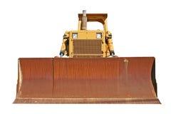 Het oude vooraanzicht van de Bulldozer Stock Afbeeldingen