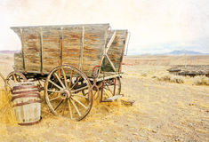 Het oude Westen Royalty-vrije Stock Foto's