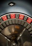 Het oude Wiel van de Roulette stock afbeelding