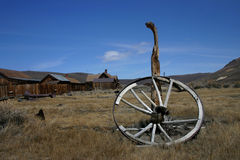 Het oude Wiel van de Wagen Royalty-vrije Stock Foto