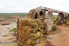 Het oude Wiel van het Water Augusta Westelijk Australië Royalty-vrije Stock Afbeeldingen