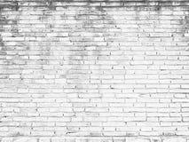 Het oude witte Ontwerp van de bakstenen muurtextuur Lege witte baksteenachtergrond voor Presentaties en Webontwerp Heel wat Ruimt Stock Afbeelding