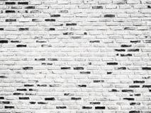 Het oude witte Ontwerp van de bakstenen muurtextuur Lege witte baksteenachtergrond voor Presentatiesruimte voor de kunstbeeld van Royalty-vrije Stock Foto