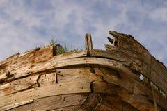 Het oude Wrak van de Boot Royalty-vrije Stock Afbeelding