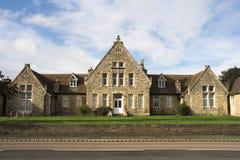 Het oude Ziekenhuis Royalty-vrije Stock Afbeelding