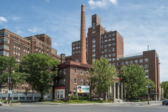 Het oude Ziekenhuis van Montreal Childreen stock afbeelding