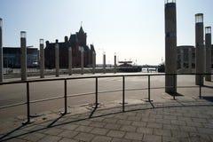 Het Ovale Bassin, de Baai van Cardiff royalty-vrije stock foto's