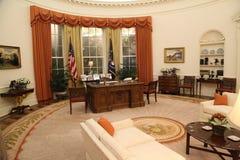 Het ovale bureau Stock Afbeeldingen