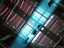 Het overbruggen disciplines Stock Foto