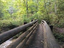 Het overbruggen van Smal Gap Stock Afbeelding