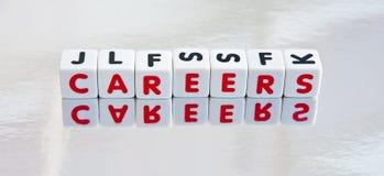 Het overdenken carrières Stock Foto's