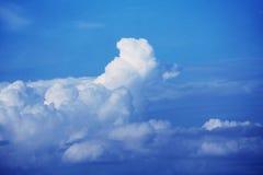 Het overgaan van wolken royalty-vrije stock fotografie